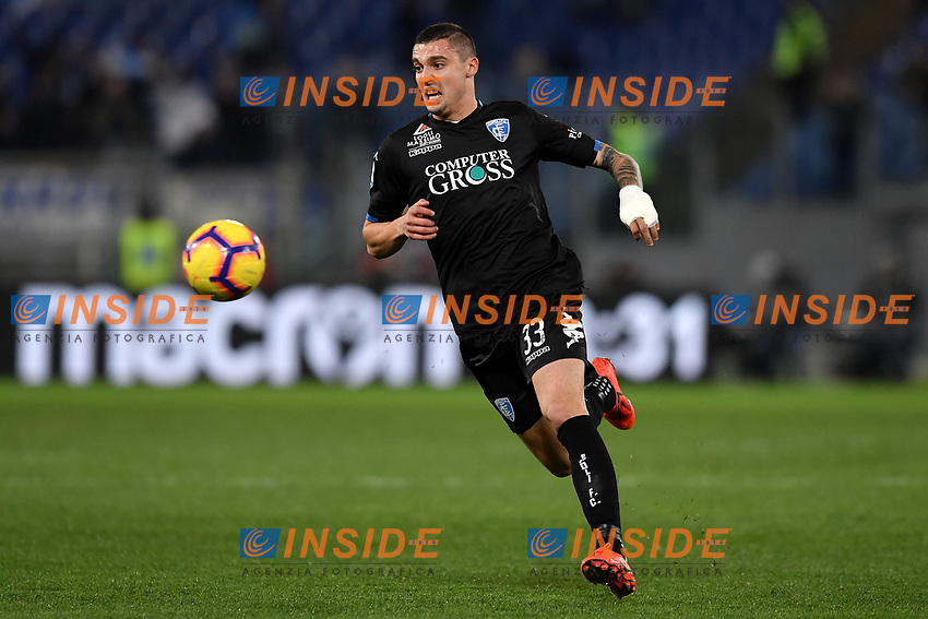 Rade Krunic of Empoli in action during the Serie A 2018/2019 football match between Lazio and Empoli at stadio Olimpico, Roma, February 7, 2019 <br />  Foto Andrea Staccioli / Insidefoto