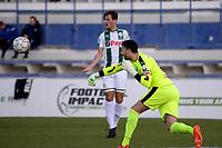 MARBELLA  - Voetbal, Club Brugge - FC Groningen, Trainingskamp , seizoen 2017-2018, 10-01-2018,  FC Groningen doelman Kevin Begois