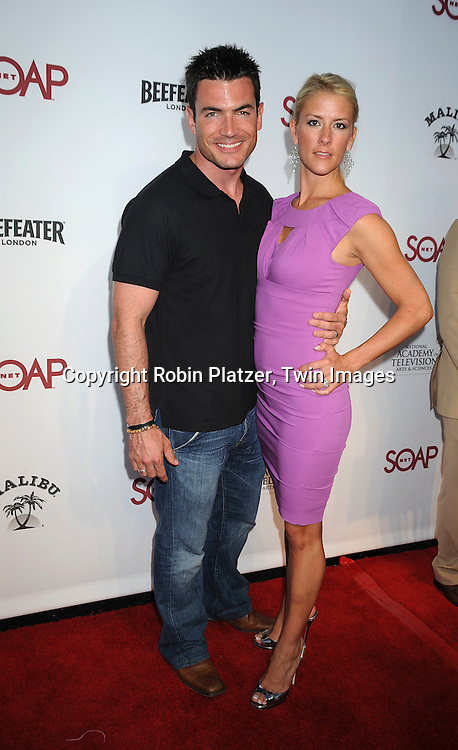 """Aiden Turner and wife Megan..at SOAPNET'S """" Night Before Party"""" for the 2008 Daytime Emmy Award Nominees at Crimson and Opera in ..Hollywood, California on June 19, 2008.....Roibn Platzer, Twin Images"""