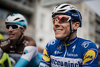 Philippe GILBERT (BEL/Deceuninck-Quick Step) at the start<br /> <br /> 81st Gent-Wevelgem 'in Flanders Fields' 2019<br /> One day race (1.UWT) from Deinze to Wevelgem (BEL/251km)<br /> <br /> ©kramon