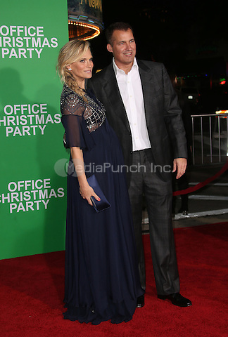 """Westwood, CA - DECEMBER 07: Molly Sims, Scott Stuber, At Premiere Of Paramount Pictures' """"Office Christmas Party"""" At Regency Village Theatre, California on December 07, 2016. Credit: Faye Sadou/MediaPunch"""