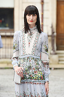 Erin O'Connor arrives for the VIP preview of the Royal Academy of Arts Summer Exhibition 2016