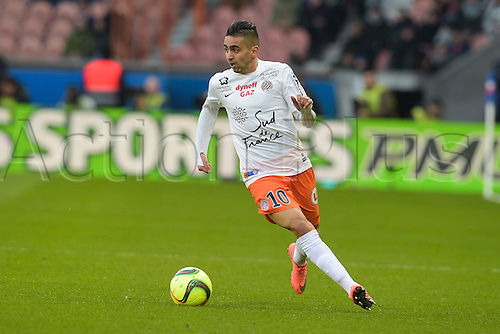 05.03.2016. Paris, France. French League 1 football. Paris St Germain versus Montpellier.  BOUDEBOUZ Ryad (Montpellier)