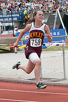 Kelly's Samantha Ratledge runs a leg of the 5th-place Class 2 4x100-meter relay. The team finished 51.66 seconds.