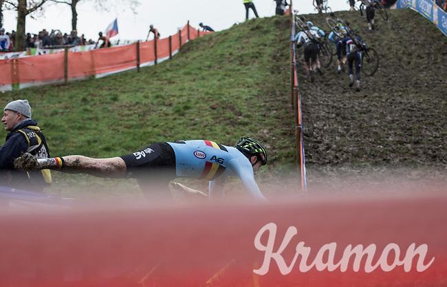 superman <br /> <br /> men's junior Race<br /> UCI CX Worlds 2018<br /> Valkenburg - The Netherlands