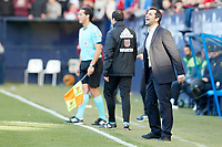 Diego Mart&iacute;nez (Coach; CA Osasuna) during the Spanish <br /> la League soccer match between CA Osasuna and CD Lugo at Sadar stadium, in Pamplona, Spain, on Saturday, <br /> April 28, 2018.