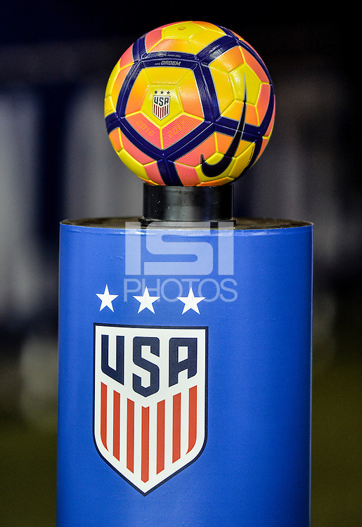 San Jose, CA - November 10, 2016: The U.S. Women's National team take on Romania in an international friendly game at Avaya Stadium.