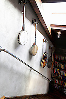 hanging musical instruments