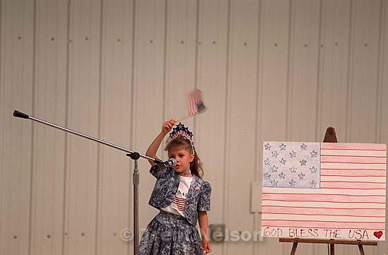 Kelby Bradshaw. 3rd place, Beaver Farm Bureau Talent Contest. Beaver County Fair<br />