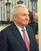 Producer and screenwriter Lorne Michaels arrives to accept Presidential Medal of Freedom, the Nation's highest civilian honor, from United States President Barack Obama in the East Room of the White House in Washington, DC on November 22, 2016.<br /> Credit: Ron Sachs / CNP