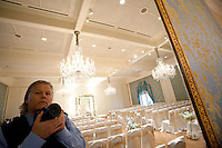 Self portrait at the Junior League of Houston while photographing Liat and Josh's wedding in 2013.