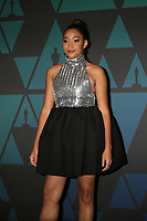 LOS ANGELES - NOV 18:  Amandla Stenberg at the 10th Annual Governors Awards at the Ray Dolby Ballroom on November 18, 2018 in Los Angeles, CA