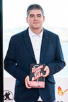 Written Jose Antonio Fideu pose to the media during of the Minotaurio Award at Festival de Cine Fantastico de Sitges in Barcelona. October 11, Spain. 2016. (ALTERPHOTOS/BorjaB.Hojas)