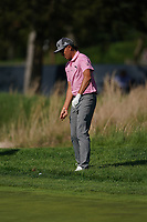 Rickie Fowler (USA) on the 16th green during the 3rd round at the PGA Championship 2019, Beth Page Black, New York, USA. 19/05/2019.<br /> Picture Fran Caffrey / Golffile.ie<br /> <br /> All photo usage must carry mandatory copyright credit (© Golffile | Fran Caffrey)