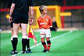 Blackpool FC v Bury FC Lancashire Cup 1994/95..Mascot......© Phill Heywood.tel 07806 775649