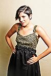 NICOLETTE GAONA. attending 'La Maison de Fashion,' featuring a preview of Designer Lauren Elaine's Fall/Winter 2010 collection. Los Angeles, CA, USA. August 9, 2010.