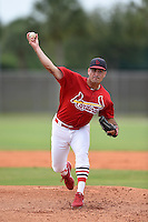St. Louis Cardinals pitcher Kurt Heyer (26) during a minor league spring training intrasquad game on March 28, 2014 at the Roger Dean Stadium Complex in Jupiter, Florida.  (Mike Janes/Four Seam Images)