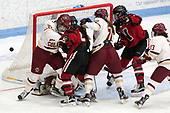 -  The Boston College Eagles defeated the Northeastern University Huskies 2-1 in overtime to win the 2017 Hockey East championship on Sunday, March 5, 2017, at Walter Brown Arena in Boston, Massachusetts.