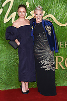 Stella McCartney &amp; Pink at the British Fashion Awards 2017 at the Royal Albert Hall, London, UK. <br /> 04 December  2017<br /> Picture: Steve Vas/Featureflash/SilverHub 0208 004 5359 sales@silverhubmedia.com