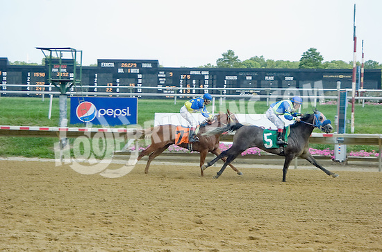 Time and Chance winning at Delaware Park on 8/2/12
