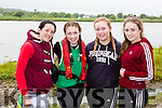 Nicole Moriarty, Shannon Foley, Chloe Teahan and Sarah Casey Cromane at the Callinafercy Regatta on Sunday