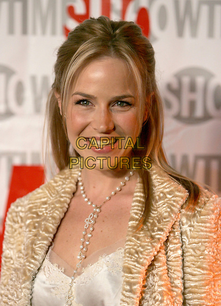 JULIE BENZ.attends ShowtimeÕs TCA Press Tour Party held at Stage 6 at Universal Studios in Universal City, California, USA, January 12th 2005.portrait headshot.Ref: DVS.www.capitalpictures.com.sales@capitalpictures.com.©Debbie VanStory/Capital Pictures .