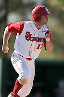 February 21, 2009:  Outfielder Brian Kemp (17) of St. John's University during the Big East-Big Ten Challenge at Jack Russell Stadium in Clearwater, FL.  Photo by:  Mike Janes/Four Seam Images
