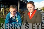 MUSICAL: Mercy Mounthawk student, Eoghain Sheehy who will star in RTE's 'Jam - the Musical' next week, with his music teacher, Sharon Clancy.   Copyright Kerry's Eye 2008
