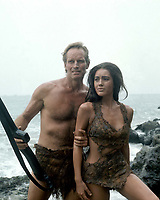 Planet of the Apes (1968) <br /> Charlton Heston &amp; Linda Harrison<br /> *Filmstill - Editorial Use Only*<br /> CAP/KFS<br /> Image supplied by Capital Pictures