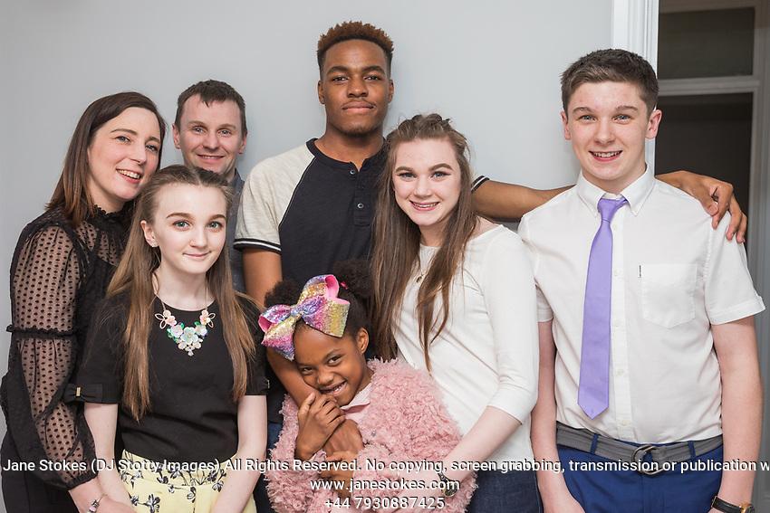 Joshua's 18th Birthday celebration on Sunday 21 January 2018 at his home. Photo by Jane Stokes (DJ Stotty Images)