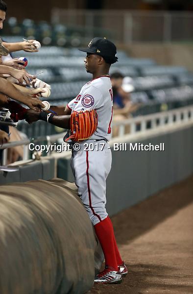 Victor Robles - Mesa Solar Sox - 2017 Arizona Fall League (Bill Mitchell)