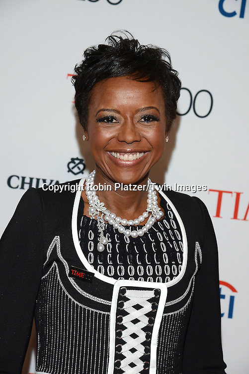 Mellody Hobson attend the TIME 100 Issue celebrating the 100 Most Influential People in the World on April 21, 2015 <br /> at Frederick P Rose Hall at Lincoln Center in New York City, New York, USA.<br /> <br /> photo by Robin Platzer/Twin Images<br />  <br /> phone number 212-935-0770