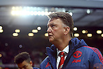 Louis Van Gaal, manager of Manchester United - Manchester United vs Norwich City - Barclays Premier League - Old Trafford - Manchester - 19/12/2015 Pic Philip Oldham/SportImage