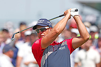 Henrik Stenson (SWE) tees off on the first hole during the third round of the 118th U.S. Open Championship at Shinnecock Hills Golf Club in Southampton, NY, USA. 16th June 2018.<br /> Picture: Golffile | Brian Spurlock<br /> <br /> <br /> All photo usage must carry mandatory copyright credit (&copy; Golffile | Brian Spurlock)