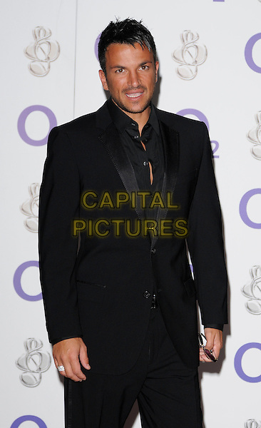 PETER ANDRE .At the Nordoff-Robbins O2 Silver Clef Awards, Hilton Park Lane Hotel, London, England, .3rd July 2009..half length black suit shirt ring .CAP/CAN.©Can Nguyen/Capital Pictures