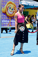 """LOS ANGELES - JUL 23:  Asia Monet Ray at """"The Emoji Movie"""" Premiere at the Village Theater on July 23, 2017 in Westwood, CA"""