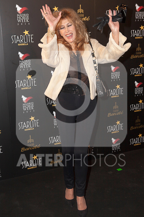 Victoria Vera attends Starlite 2015 presentation party at the Barcelo Theater on November 26, 2014 in Madrid, Spain.(ALTERPHOTOS / Nacho Lopez)