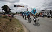 Team Astana <br /> <br /> stage 9: TTT Vannes - Plumelec (28km)<br /> 2015 Tour de France