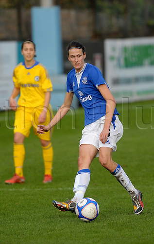 15.11.09 EVERTON LADIES V CHELSEA LADIES PLAYED AT MARINE FC CROSBY LIVERPOOL.WOMENS PREMIER LEAGUE.JILL SCOTT OF EVERTON.Photo: Alan Edwards/actionplus.