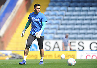 Blackburn Rovers' David Raya during the pre-match warm-up <br /> <br /> Photographer Kevin Barnes/CameraSport<br /> <br /> The EFL Sky Bet Championship - Blackburn Rovers v Bolton Wanderers - Monday 22nd April 2019 - Ewood Park - Blackburn<br /> <br /> World Copyright © 2019 CameraSport. All rights reserved. 43 Linden Ave. Countesthorpe. Leicester. England. LE8 5PG - Tel: +44 (0) 116 277 4147 - admin@camerasport.com - www.camerasport.com