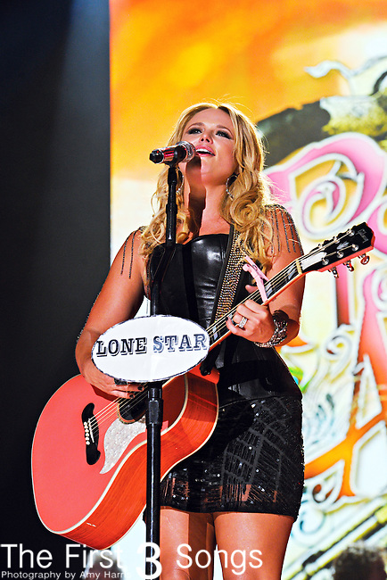 Miranda Lambert of Pistol Annies performs at LP Field during the 2012 CMA Music Festival on June 07, 2011 in Nashville, Tennessee.