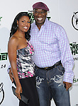 Omarosa Manigault-Stallworth and Michael Clarke Duncan attends the Columbia Pictures' Premiere of The Green Hornet held at The Grauman's Chinese Theatre in Hollywood, California on January 10,2011                                                                               © 2010 DVS / Hollywood Press Agency