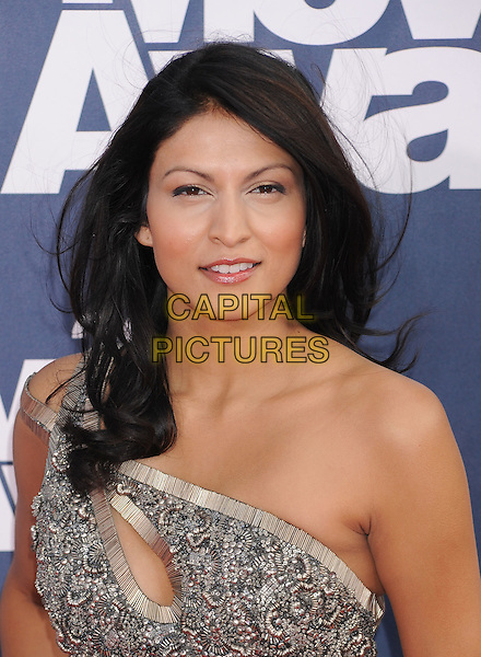 Tinsel Korey.2011 MTV Movie Awards - Arrivals held at Gibson Amphitheatre, Universal City, California, USA..June 5th, 2011.headshot portrait silver metallic one shoulder beads beaded .CAP/ROT/TM.©Tony Michaels/Roth Stock/Capital Pictures