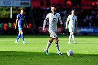 Matt Grimes of Swansea City in action during the Sky Bet Championship match between Swansea City and Cardiff City at the Liberty Stadium in Swansea, Wales, UK. Sunday 27 October 2019