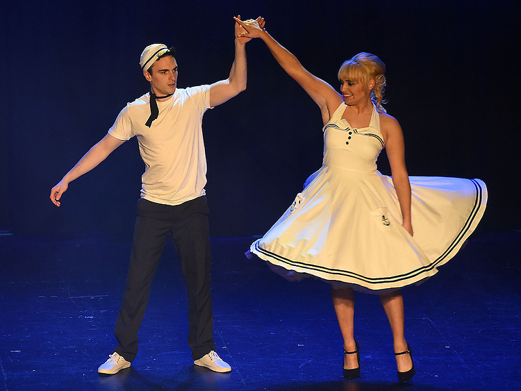 Robert Moynagh and Aisling Shevlin who took part in the Naomh Fionnbarra Strictly Come Dancing in the TLT. Photo:Colin Bell/pressphotos.ie