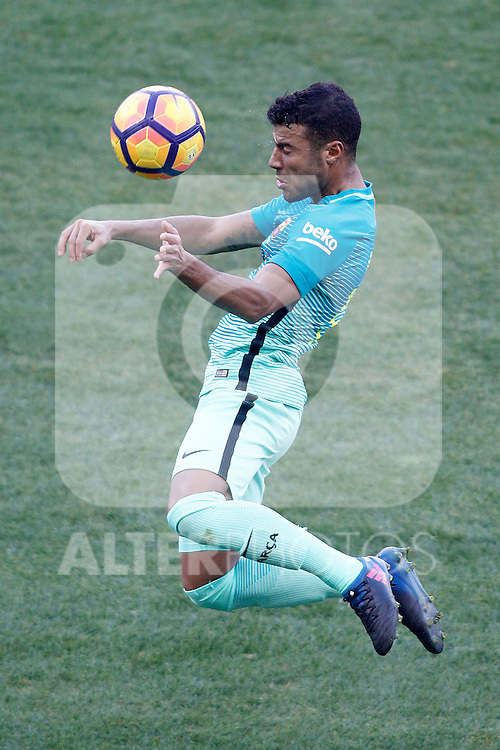 FC Barcelona's Rafinha Alcantara during La Liga match. February 26,2017. (ALTERPHOTOS/Acero)
