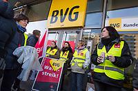 2019/02/15 Berlin | Verkehr | BVG-Warnstreik