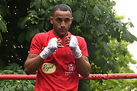 Kid Galahad during a Public Work Out at ITV Head Office on 12th July 2017