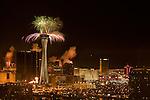Tribute Palooza on Fremont Street New Years Eve 2010, countdown with Las Vegas Mayor Oscar B Goodman
