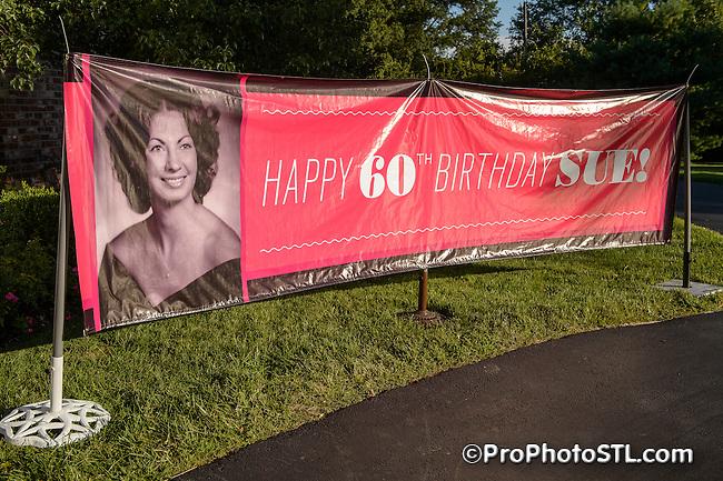 Sue's 60th birthday
